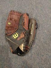 "New listing Wilson Softball Glove Mitt Elite 13"" A2477 Custom Fit RT Throw Leather"