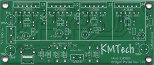 4x LM3886 ICs Bridged-Parallel BPA200 Chipamp Gainclone PCB only DIY KMTech