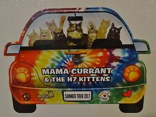 "Mama Currant & the H7 Kittens  Summer Tour 2017 Car Magnet  6 3/8"" x 4 5/8"""