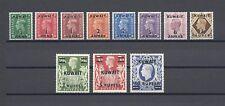KUWAIT 1948-49 SG 64/73A MINT Cat £100