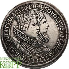 WAL028) RDR Leopolds V. und Claudias Doppelter Reichstaler o. J. Hall