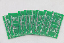 10pcs PLCC44 TO DIP40 converter adapter bare PCB