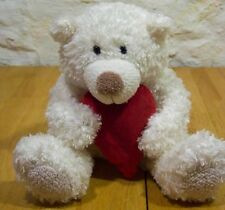 "Hallmark Talking Hugging Teddy Bear With Heart 9"" Plush Stuffed Animal Toy"