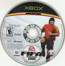 FIFA Soccer 2005 (Microsoft Xbox, 2004) DISC ONLY WORKS
