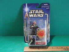 "Star Wars Attack of the Clones Saesee Tiin Jedi Master 3.75""in Figure  2001"