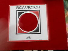 "RCA RECORDS~H ~ RECORD COMPANY SLEEVE ~ 7"" SINGLE 45 RPM"