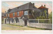 Oldest House St Augustine Florida 1910c Stern postcard