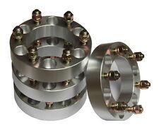 4 PCs of Aluminium Wheel Spacers 6 Lug 38mm for ISUZU RODEO, RODEO SPORT TROOPER
