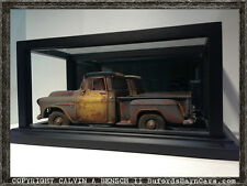 Beautifully Crafted Handmade Black Mirrored Display Case For 1:18 Models