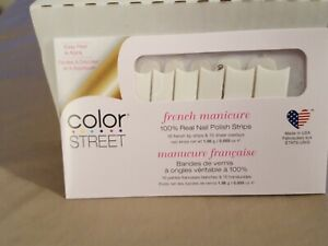 COLOR STREET NAIL STRIPS - Meet Me in Paris - French Manicure