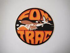 Vintage NOS Fox Trac Snowmobile Decal
