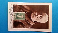 FRANCE CARTE MAXIMUM YVERT 343 ANATOLE FRANCE 30C + 10C SAINT CYR 1937 L147