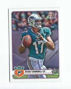 2012 Topps Magic #166 Ryan Tannehill RC Rookie Dolphins Titans