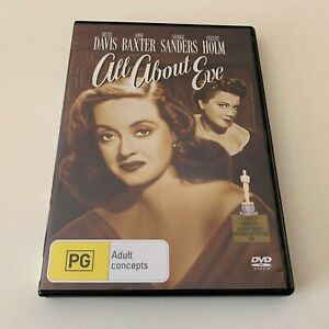 All About Eve - R4 (DVD) Classic Bette Davis
