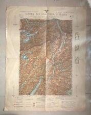 CARTA AERONAUTICA D'ITALIA FOGLI 5 TRENTO BOLZANO EGNA GARDOLO 1930
