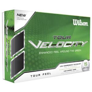 Wilson Tour Velocity Feel - 15 ball pack