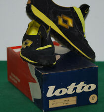 vintage shoes lotto tennis runner professional tracking indoor TARGA 80s 70s