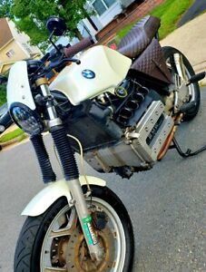 BMW K100 Ornamental Velocity Stacks / Intake Cones Cafe Racer Flying Brick