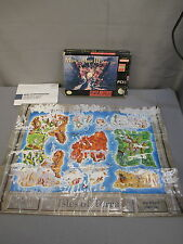 "Super Nintendo ""MIGHT AND MAGIC III"" Isles of Terra Box & Map Only SNES 1994"