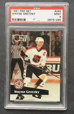 1991 Pro Set #285 Wayne Gretzky PSA 9