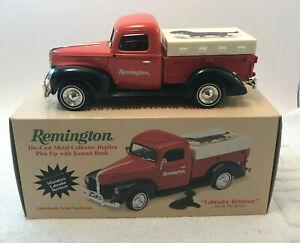Ertl Remington Hunting Dog Series Labrador 1940 Ford PickUp Truck Bank MIB