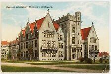 Ryerson Laboratory University of Chicago Illinois Postcard antique