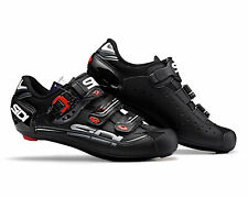 SIDI Genius 7 MEGA Black Road Cycling Shoes Size EUR 45.5 (US 11)