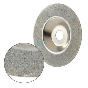 """4"""" 100mm Coated Diamond Glass Cup Grinding Wheel Blade Tool Cutter Grinder Tiles"""