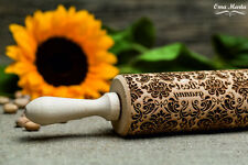 Best granny Embossed Rolling Pin Wooden Laser Engraved Rolling Pin Gift Granny