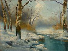 Bela Gabris - Winterlandschaft - Ungarn.