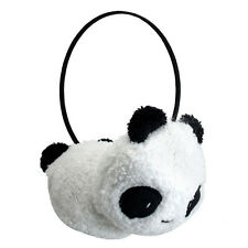 Winter Cute Panda Earmuff Ear Muff Warmer-White K3A6