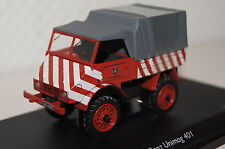 """Mercedes Unimog 401 """"ciudad obras colonia"""" rojo-blanco 1:43 Schuco nuevo & ovp3109"""
