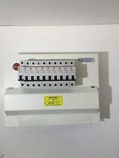 Wylex Amendment 3 Metal Clad 10 Way HI Dual RCD 17TH Edition Consumer UNIT+MCBS