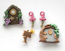 Believe in Fairies / Dress It Up ~ Jesse James  / Fairy Garden Shank Buttons