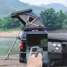 2 Person outdoor camping electric remote car hard shell roof top tent