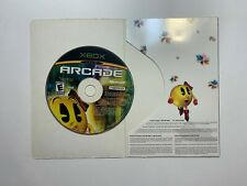 Ms. Pac-Man Online Arcade Disc w/ Paper Sleeve Xbox Game Tested