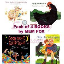 NEW Mem Fox 4 Books Collection Set Classic Children's Literature Kids Gift Pack!