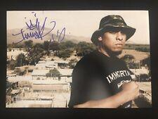 Immortal Technique Rap Hip Hop Autographed 8x12 Photo Beckett COA
