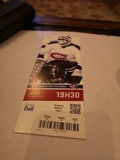 Montreal Canadiens 2014 Season  Unused Ticket Stub KEN DRYDEN