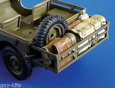 Panier avec cargaison, pour JEEP - Kit résine PLUS MODEL 1/35 - Réf. 246