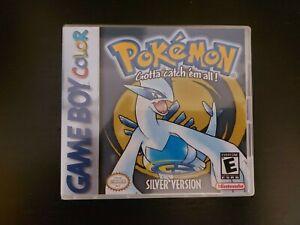 Nintendo Game Boy Color Pokemon Silver Cart Genuine Cart