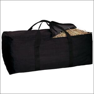 Weaver Leather Tack Horse Black Hay Bale Bag U-0-BK