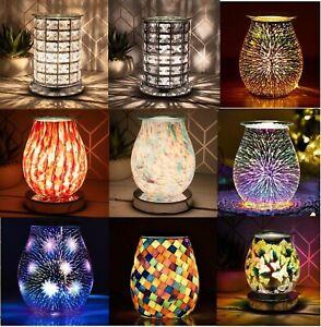 Aroma Electric Wax Melt Oil Burner Glass Lamp Night Light Diffuser Warmer XMAS