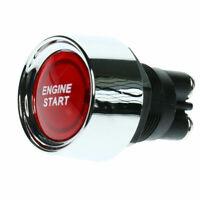 Interruttore A Pulsante Avviamento Accensione Motore Rosso Auto Racing 50a 12v