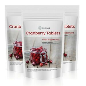 Cranberry 12000mg - 60 Tablets - Cystitis, Urinary Bladder Support Vegan