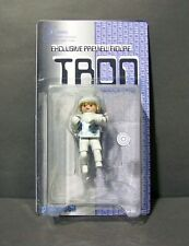 Custom carded Playmobil figure of Tron with identity disc