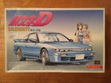 Aoshima 1/32 INITIAL D Nissan 180SX Sileighty Model Kit NEW IN BOX