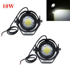 1Pair 10W 6000K Cree U2 LED Work Light Bar Flood Driving Offroad Fog Lamp 4x4WD