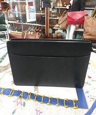 Louis Vuitton Epi Pochette Homme Black Leather Clutch