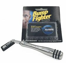 Sensitive Skin Bump Fighter Razor - Heavyweight All Metal Handle w Rubber Grips